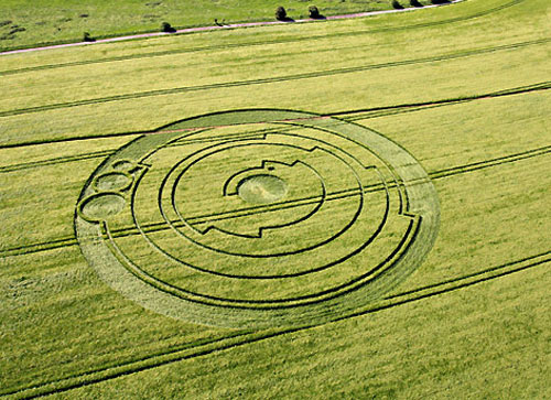crop circles & terracing