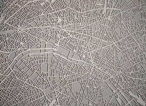 Paris Mapcut - Studio Kmo