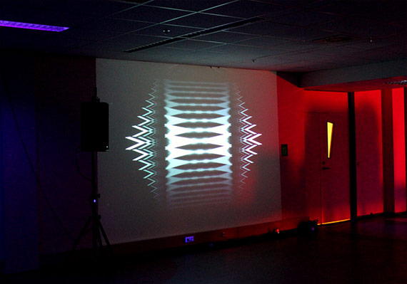Talysis II at he Optofonica Lab exhibition, Musuems Night